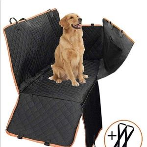 Other - New Black Pet Carseat Car Cover